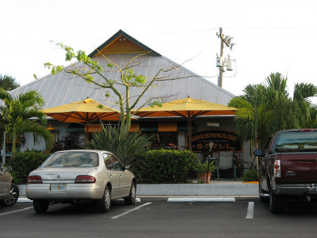 Greenhouse Grill Restaurant on Sanibel Island